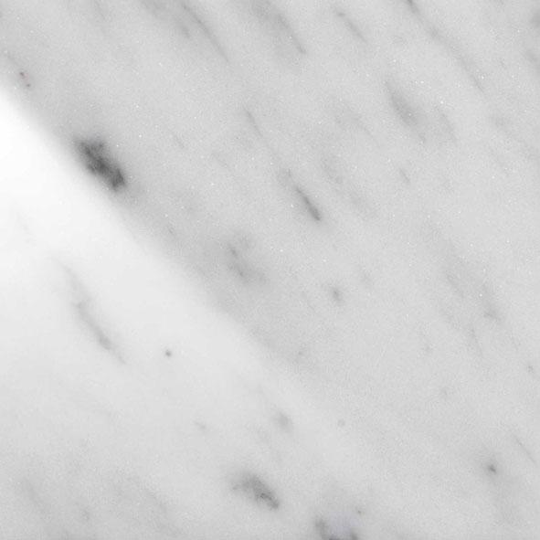 BC polished white Carrara
